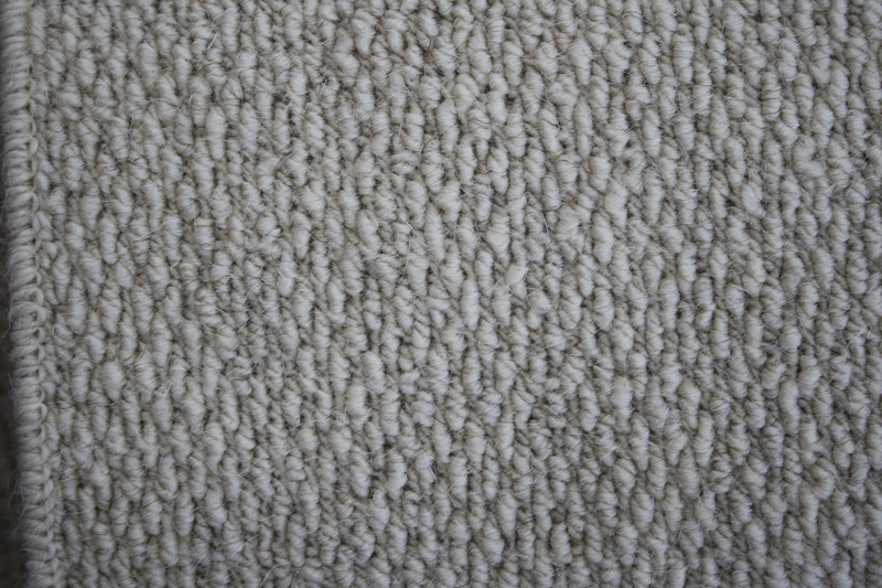 The tight knit loops give the carpet a soft feel underfoot and looks great on stairs and a landing.